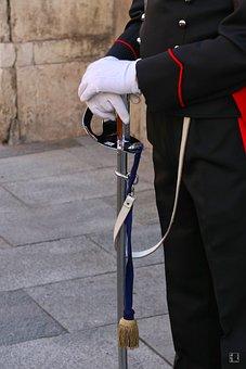 Policeman, Military, Uniform, Guard, Army, Carabinieri