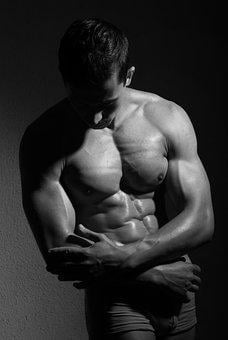 Athlete, Bodybuilder, Macho, Male, Masculinity, Muscles
