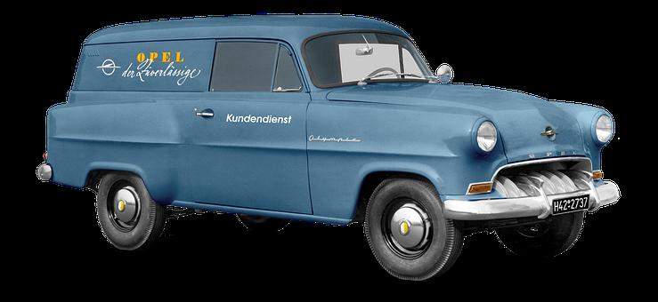 Opel Olympia, Born 1953-54, Caravan, Combi, Old Black