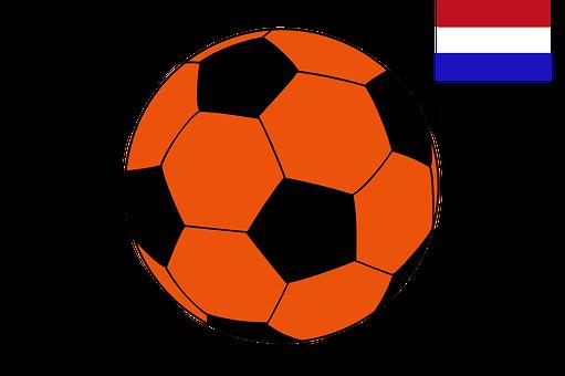 Football, Netherlands, Flag, Sports, Championship