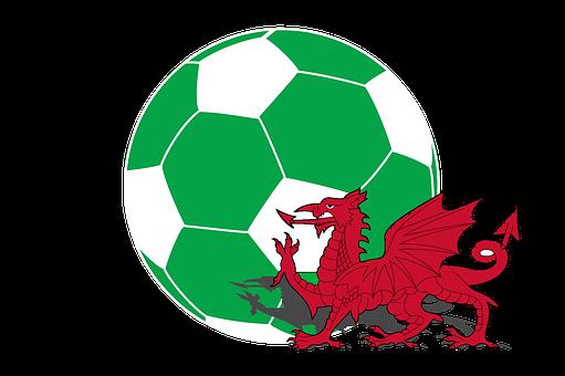 Football, Wales, Flag, Sports, Championship
