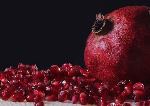 Pomegranate, Fruit, Food, Seeds