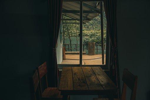 Cabin, Window, Shack, House, Wood, Cottage