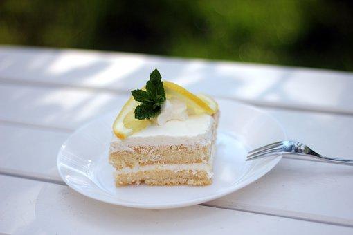 Dessert, Lemon Cake, Lemon Dessert, Sweet, Lemon, Food