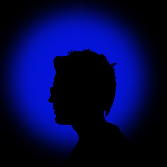 Silhouette, Person, Darkness, Man, Shadow, Backlighting