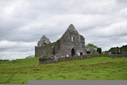 Building, Cathedral, Ruins, Old, Architecture