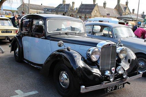 Car, Vintage, Wolseley, Old, Retro, Classic, Auto