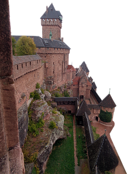 Castle, Fortress, Medieval, Architecture, Ancient