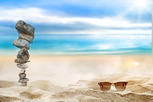 Stones, Rocks, Balance, Shades, Balanced Rocks