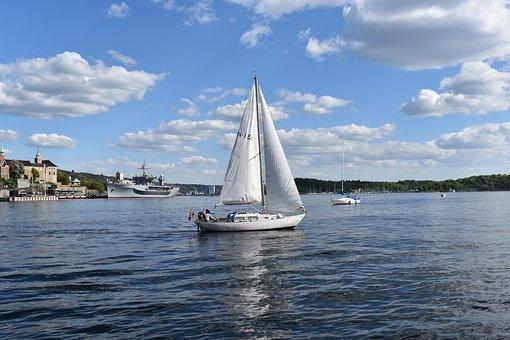 Sailboat, Boat, Sea, Sailing, Water, Ocean, Boating