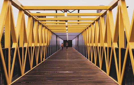 Irene Hixon Whitney Bridge, Bridge, Path, Footbridge