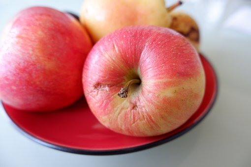 Apples, Fruits, Red, Harvest, Healthy, Produce, Ripe