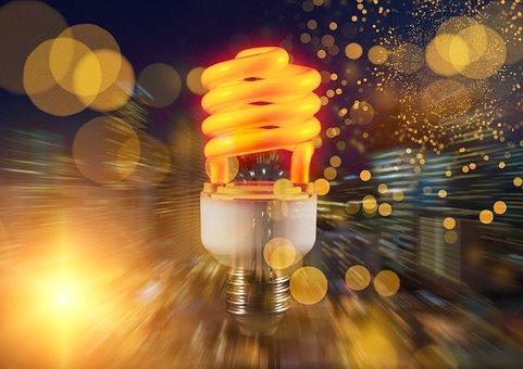 Light Bulb, Light, Idea, Energy, Rays, Bulbs, Invention