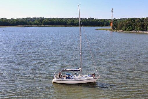 Sea, Sailboat, Travel, Sailing, Boat, Water, Bay, Ocean