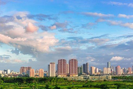 City, Architecture, Cityscape, Sky, Skyline, Urban