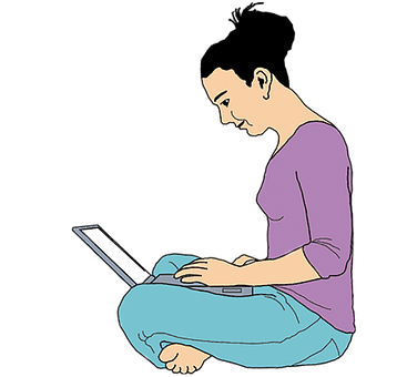 Woman, Laptop, Work, Computer, Technology, Young