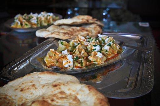 Mantoo, Food, Afghanistan, Cuisine, Bread, Ethnic, Meal