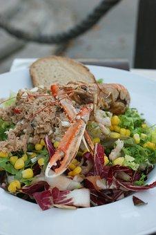 Food, Cancer, Salad, Tuna, Bread, Healthy, Corn, Diet