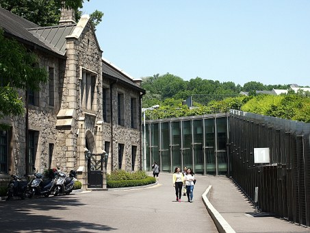 University, Ewha, Building, Architecure, Students