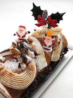Christmas, Cake, Suites, Food, Santa Claus, Sweet, Bell