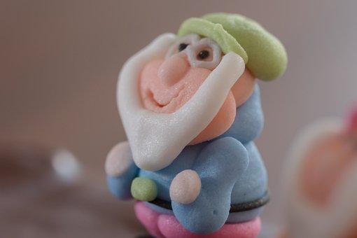 Dwarf, Candy, Sugar, Seven, 7, Sweet, Nibble, Sweetness