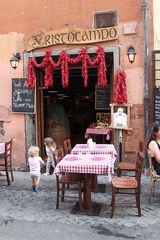 Chilis, Checkered Tablecloth, Rome, Menu, Restaurant
