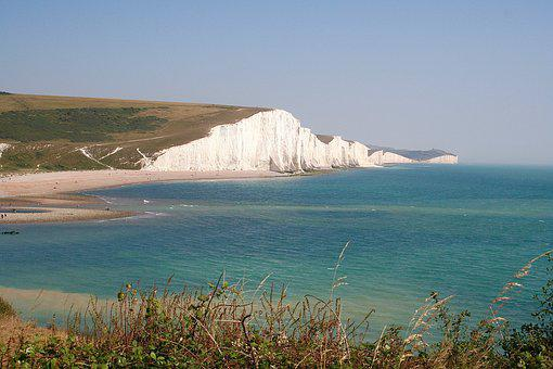 Seven Sisters, Cuckmere Valley, Cliffs, South Downs