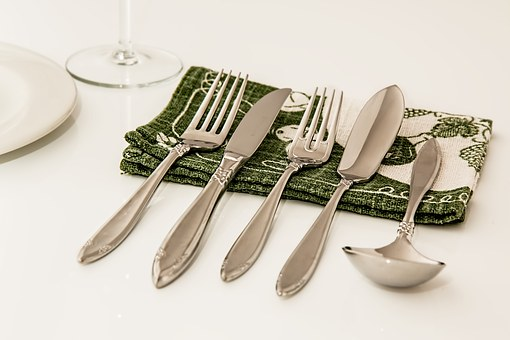 Place Setting, Dinner, Cutlery, Dining, Celebration