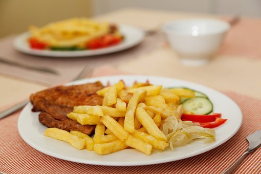 Beef, Chips, Diet, Dinner, Dish, Eat, Food, French