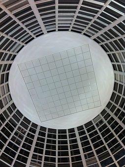 Ceiling, Dome, Roof, Interior, Decorative, Design