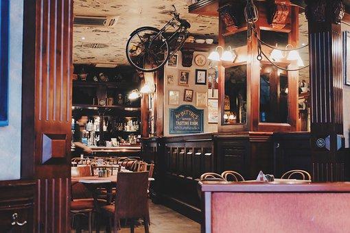 Cafe, Restaurant, Fancy, Style, Upside Down, Design