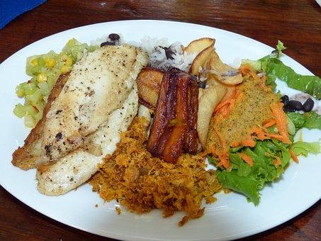 Eat, Cassava, Costa Rica, Central America, Food