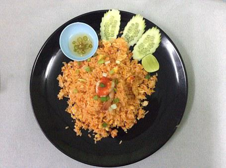Rice, Thai Food, Food, Eat, Spicy, Lunch, Dinner