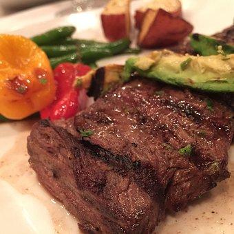 Skirt Steak, Beef, Meal, Steak, Skirt, Meat, Food