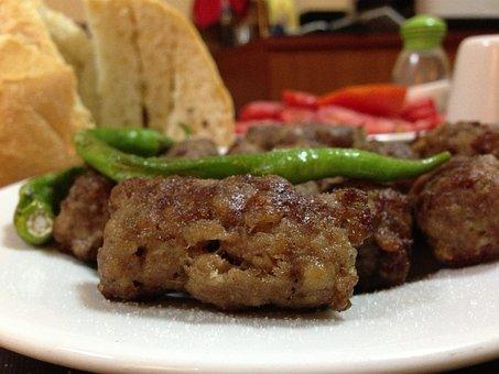 Kufta, Meatballs, Meat, Food, Restaurant, Bistro