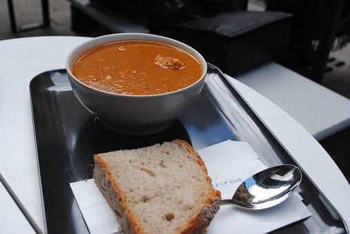 Soup, Food, Pumpkin, Orange, Plate, Restaurant, Tasty