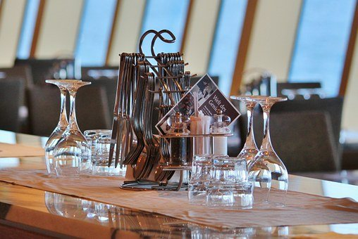 Restaurant, Bistro, Gastronomy, Cutlery, Glasses