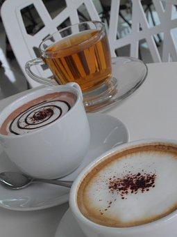 Coffee, Latte, Hot, Beverages, Green, Tea, Health