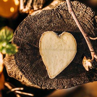 Ginger, Heart, Wood, Love, Sweet, Decoration, Dessert