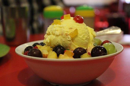 Ice Cream, Ice Scoop, Ice Cream Cup, Restaurant, Hotel