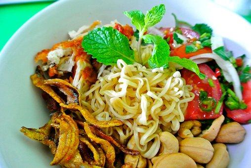 Thai Food, Salad, Instant Noodle, Noodle, Asian Food