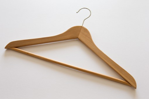 Clothes Hanger, Traditional, Beech Wood, Jacket, Coat