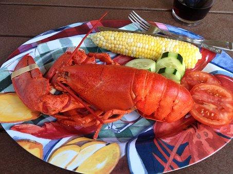 Food, Lobster, Lobster Dinner, Lobster Bake, Seafood