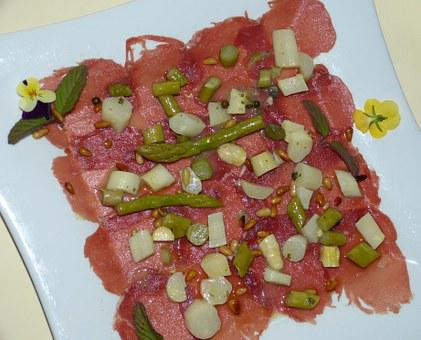 Carpaccio, Ham, Dry Cured Ham, Restaurant, Eat, Meal