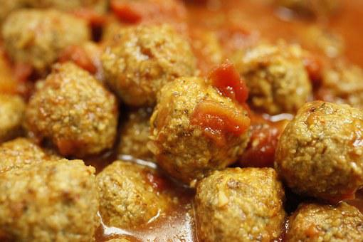 Meat Balls, Food, Spicy, Sauce, Meat, Hot, Fried, Meal