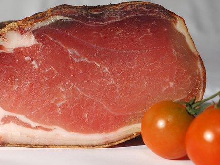 Ham, Bacon, Eat, Food, Meaty, Smoked Meat, Smoked Ham