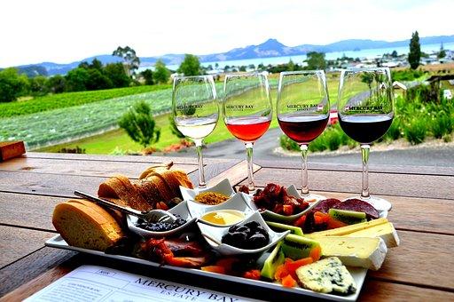 Winery, New Zealand, Mercury Bay, Nz, Whitianga, Wine