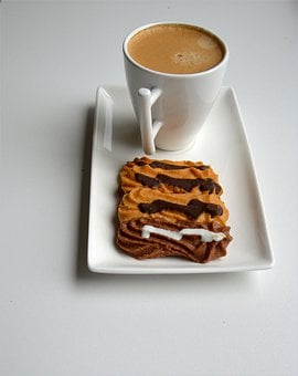 Coffee, Pastry, Snacks, Foods, Edible, Cakes, Desserts