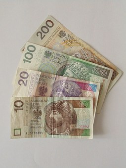 Banknotes, Polish, Money, Currency, Poland