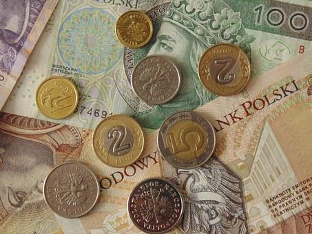 Money, Polish, Banknotes, Coins, Currency, Poland
